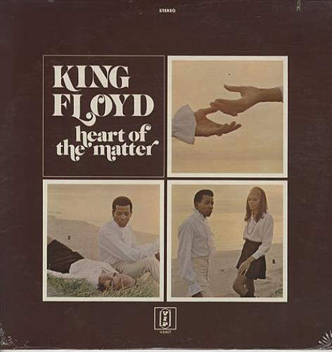 King Floyd Heart Of The Matter vinyl LP album (LP record) US KIYLPHE334102