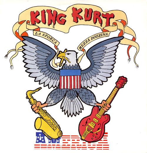 "King Kurt America 12"" vinyl single (12 inch record / Maxi-single) UK K-K12AM15881"