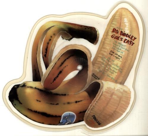 King Kurt Banana Banana shaped picture disc (picture disc vinyl record) UK K-KSHBA693804