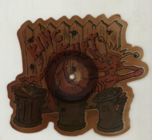 King Kurt Destination Zulu Land + cardboard outer shaped picture disc (picture disc vinyl record) UK K-KSHDE676225
