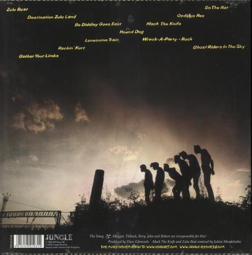 King Kurt Ooh Wallah Wallah - Yellow vinyl vinyl LP album (LP record) UK K-KLPOO729699