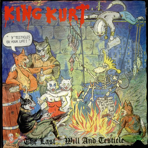 King Kurt The Last Will And Testicle vinyl LP album (LP record) UK K-KLPTH544456