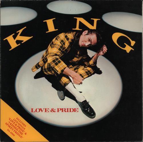 """King Love & Pride - Doublepack 7"""" vinyl single (7 inch record) UK K-G07LO277850"""