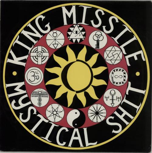 King Missile Mystical Shit vinyl LP album (LP record) Dutch KM6LPMY591899