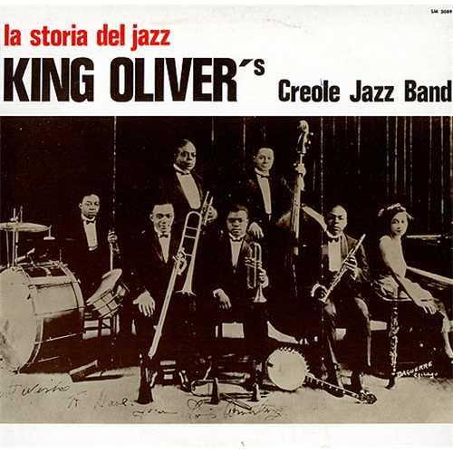 King Oliver King Oliver S Creole Jazz Band Italian Vinyl