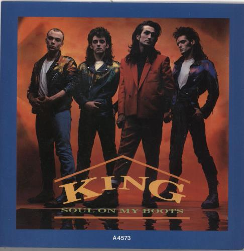 "King Soul On My Boots 7"" vinyl single (7 inch record) UK K-G07SO269109"