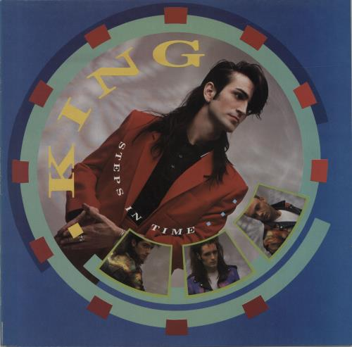 King Steps In Time vinyl LP album (LP record) UK K-GLPST174448