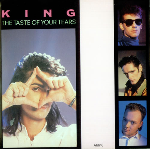 "King The Taste Of Your Tears 7"" vinyl single (7 inch record) UK K-G07TH525229"