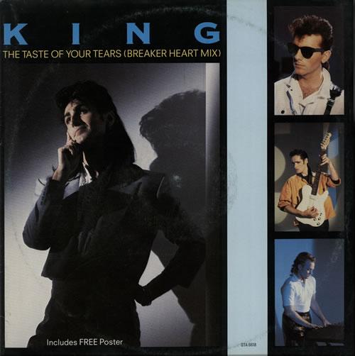 "King The Taste Of Your Tears 12"" vinyl single (12 inch record / Maxi-single) UK K-G12TH578098"