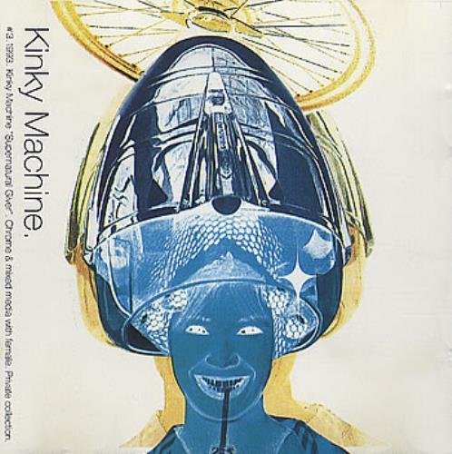"Kinky Machine Supernatural Giver CD single (CD5 / 5"") UK KIKC5SU138758"