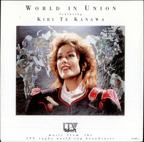 "Kiri Te Kanawa World In Union 7"" vinyl single (7 inch record) UK KTK07WO515342"