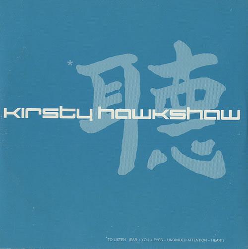 "Kirsty Hawkshaw Album Promo CD single (CD5 / 5"") UK KHWC5AL177626"
