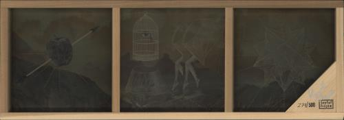 "Kishi Bashi 7"" Box Set - Autographed + Wooden Presentation Frame box set US OJ7BXBO710166"