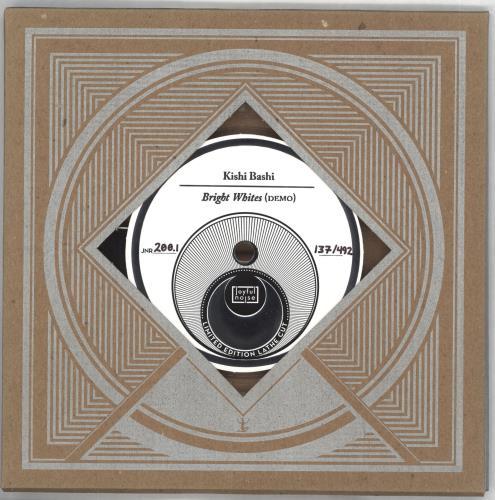 Kishi Bashi Bright Whites (Demo) shaped picture disc (picture disc vinyl record) US OJ7SHBR710152