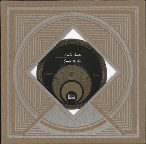 "Kishi Bashi Comin' To You - Clear/Gold Splatter Vinyl 7"" vinyl single (7 inch record) US OJ707CO710149"