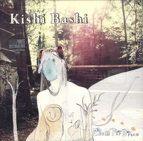 "Kishi Bashi Room For Dream - White & Clear Vinyl + Numbered 10"" vinyl single (10"" record) US OJ710RO710069"