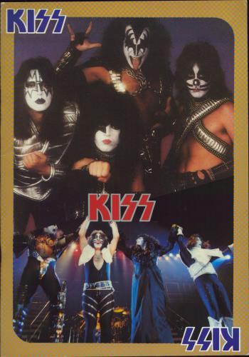 Kiss 1978 Tour + Ticket Stub tour programme Japanese KISTRTO768887