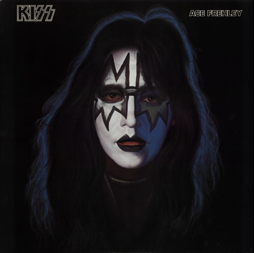 Kiss Ace Frehley + Poster vinyl LP album (LP record) Japanese KISLPAC583128