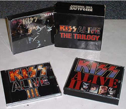 Kiss Alive Deluxe Box Not Sealed Us Promo Box Set 20304