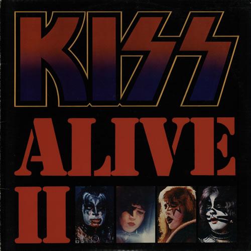 Kiss Alive II - EX 2-LP vinyl record set (Double Album) US KIS2LAL574436