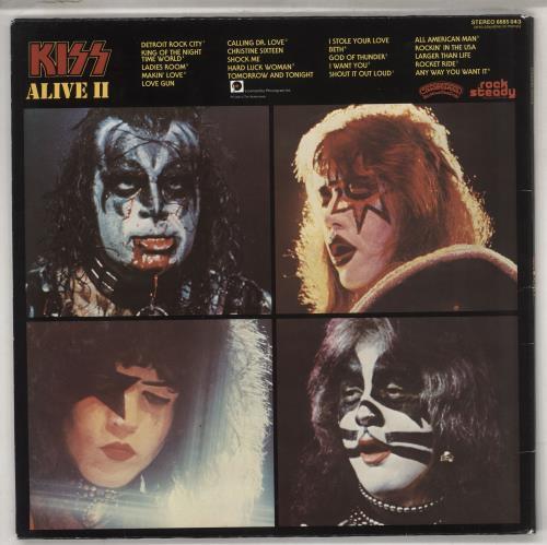 Kiss Alive II 2-LP vinyl record set (Double Album) Dutch KIS2LAL737193