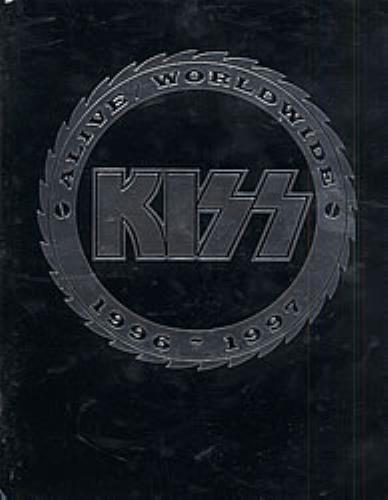 Kiss Alive Worldwide 1996-1997 tour programme Japanese KISTRAL198464