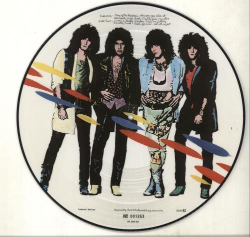 Kiss Asylum picture disc LP (vinyl picture disc album) Dutch KISPDAS00888