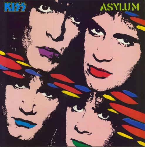 Kiss Asylum vinyl LP album (LP record) UK KISLPAS00890