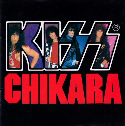 Kiss Chikara CD album (CDLP) Japanese KISCDCH133805