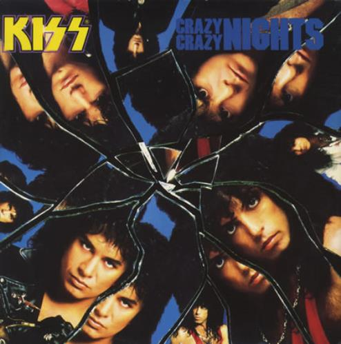 "Kiss Crazy Crazy Nights 12"" vinyl single (12 inch record / Maxi-single) UK KIS12CR14426"