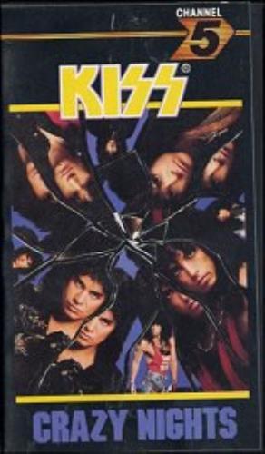 Kiss Crazy Nights video (VHS or PAL or NTSC) UK KISVICR154467