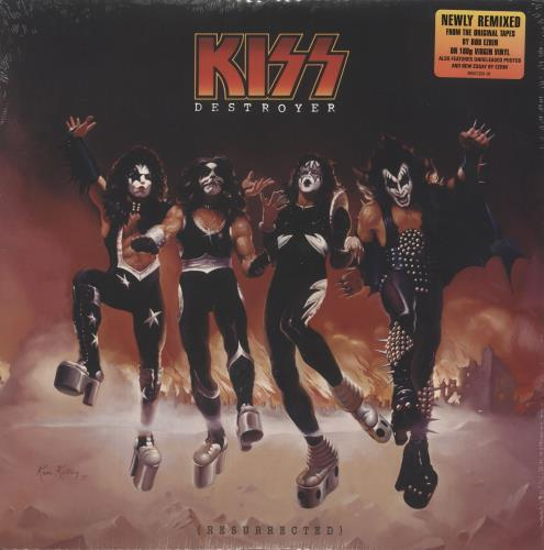 Kiss Destroyer (Resurrected) - 180gm - Sealed vinyl LP album (LP record) US KISLPDE743652