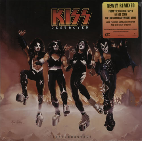 Kiss Destroyer (Resurrected) - 180gm vinyl LP album (LP record) UK KISLPDE577610