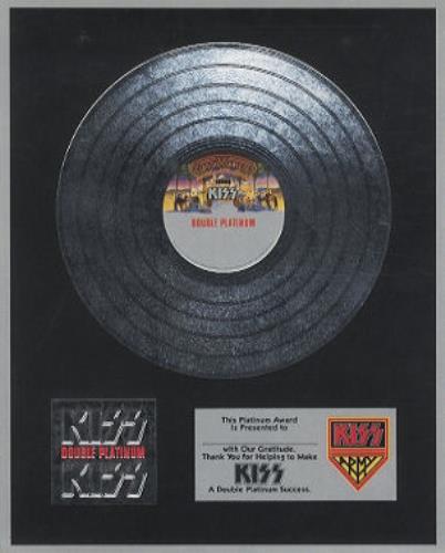 Kiss Double Platinum Japanese 2 Lp Vinyl Record Set