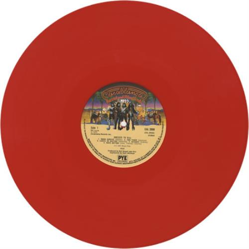 Kiss Dressed To Kill - Red vinyl vinyl LP album (LP record) UK KISLPDR02686
