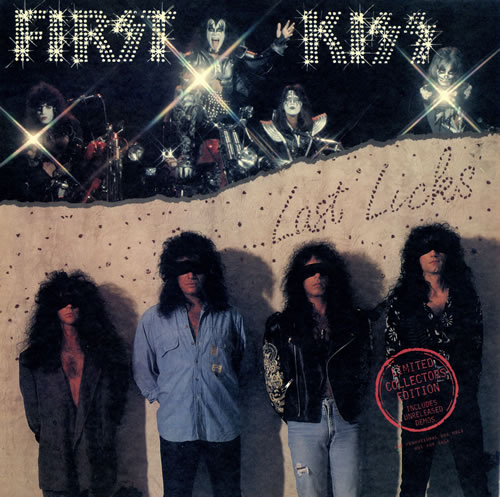 Kiss First Kiss Last Licks Us Promo Vinyl Lp Album Lp