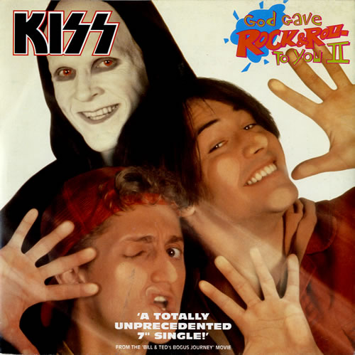 "Kiss God Gave Rock & Roll To You II 7"" vinyl single (7 inch record) UK KIS07GO575240"