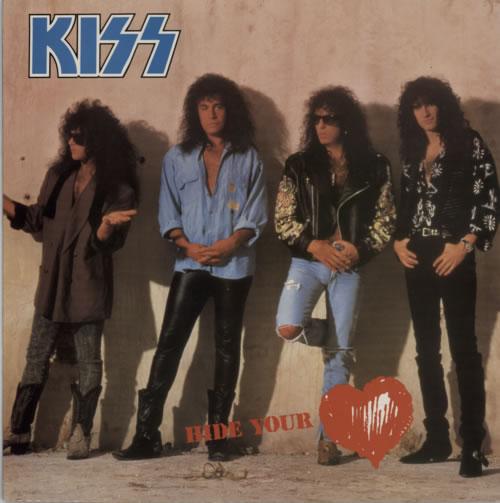 "Kiss Hide Your Heart 12"" vinyl single (12 inch record / Maxi-single) UK KIS12HI14431"