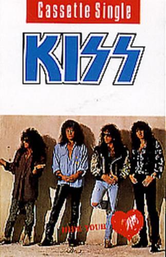 Kiss Hide Your Heart cassette single UK KISCSHI26636