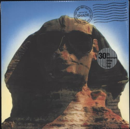 Kiss Hot In The Shade - Blue Vinyl - Sealed vinyl LP album (LP record) UK KISLPHO732613
