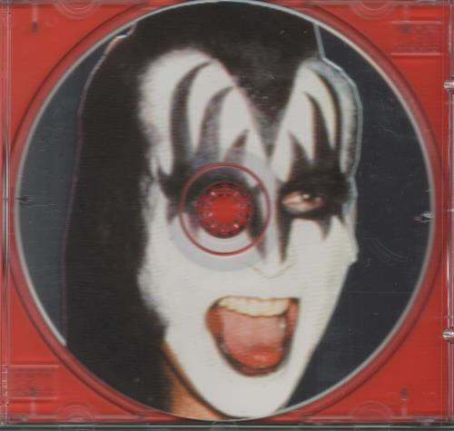 """Kiss Interview With Gene - Uncut Picture CD CD single (CD5 / 5"""") UK KISC5IN80748"""