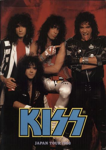 Kiss Japan Tour 1988 + Ticket Stub tour programme Japanese KISTRJA768891