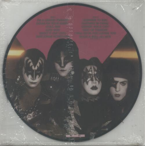 Kiss Killers picture disc LP (vinyl picture disc album) Dutch KISPDKI00898