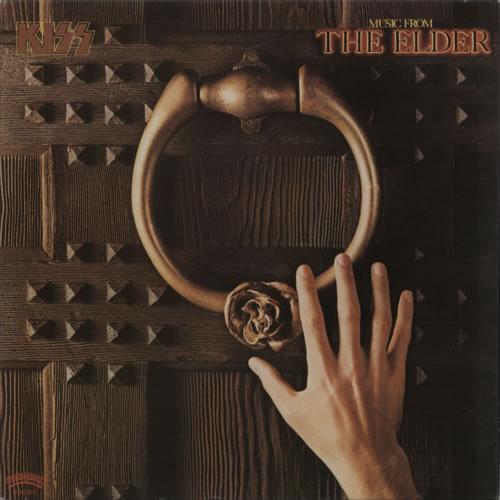 Kiss Music From The Elder vinyl LP album (LP record) Japanese KISLPMU118484