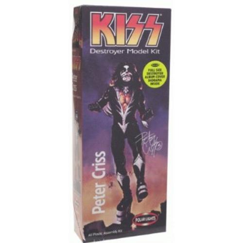 Kiss Peter Criss - Destroyer Model Kit memorabilia UK KISMMPE242661