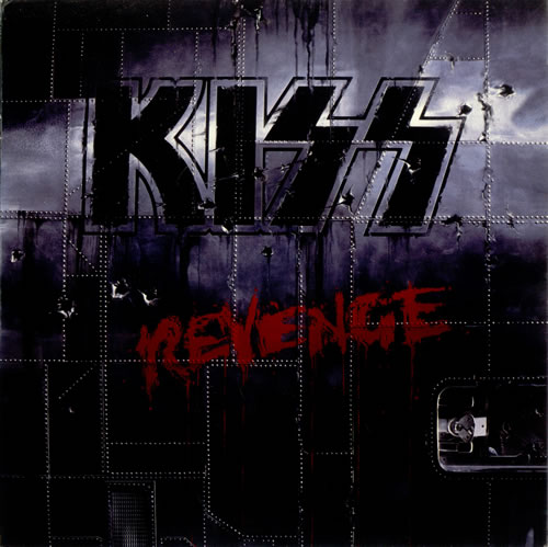 Kiss Revenge - Black Vinyl vinyl LP album (LP record) UK KISLPRE496034