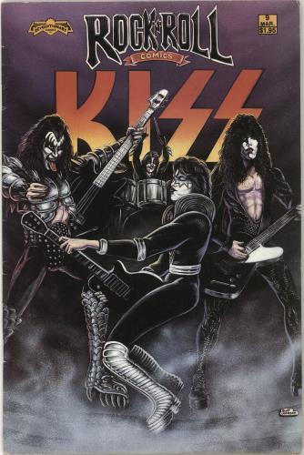 Kiss Rock 'N' Roll Comics magazine US KISMARO197051