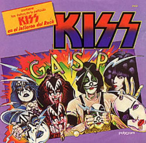 """Kiss Shandi 7"""" vinyl single (7 inch record) Mexican KIS07SH01424"""