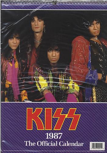 Kiss The Official Calendar calendar UK KISCATH387540