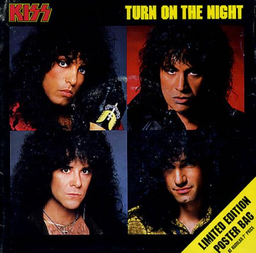 "Kiss Turn On The Night 7"" vinyl single (7 inch record) UK KIS07TU01425"